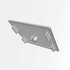 10574 | Заглушка торцевая 90х90 паз 10