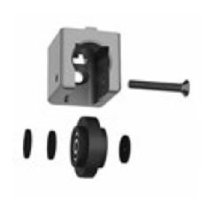 10609 | Набор ролик 10603 і адаптер паз 10 мм до профілів 40 мм