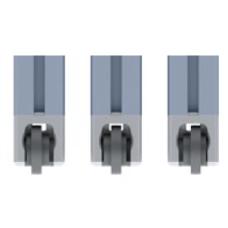 10608 | Набор ролик 10602 і адаптер паз 8 мм до профілів 40 мм