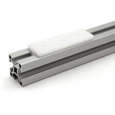 10702 | Повзун платформа, паз 8 мм, плоский верх