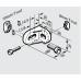 10853 | Угловой соединитель R 28x38 паз 8/10. Bosch 3 842 515 473