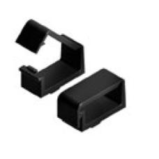 10808 | Кабельний хомут кліпса до станочних профілів, стінка профілю 4,5мм, паз 8