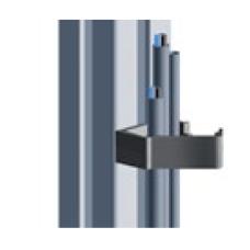 10809 | Кабельний хомут кліпса до станочних профілів, стінка профілю 5,9 мм, паз 10