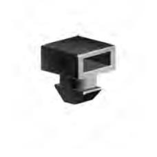 10800 | Тримач кабельних хомутів стяжок до станочних профілів, стінка 2,1мм, паз 8 ситем. Bosch