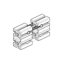 Болтовые соединители для удлинения станочных профилей