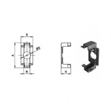 11154 | З'єднувальна пластина, паз 10 профілів Bosch