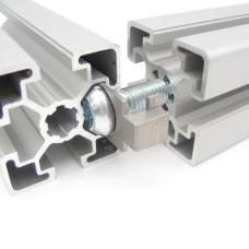 11154 | З'єднувальна пластина с захистом від провертання - пази 8 Item і 10 Bosch Rexroth
