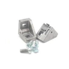 10309 | Кутовий з'єднувач 30 паз 8, цинк,  S 30x30 set 3842536671 Bosch