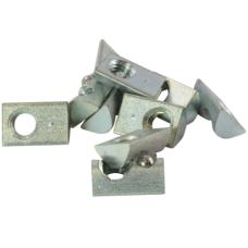 10480 | Сухарь пазовый с фиксатором, плоск. верх, паз 5 M4 Item