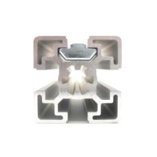 10496 | Сухар пазовий, посилений, з завантаженням з торця, з виступом, паз 8 ситем. Item, паз 10 ситем. Bosch, М5, 19x10-20
