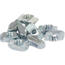 10104 | Т-подібна гайка паз 8, виступ 1,5 мм, М6, сталь оцинкована, аналог Bosch 3 842 501 753
