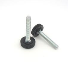 11053 | Регульована опора / шпилька різьбова M6х34 з подошвою 20 мм