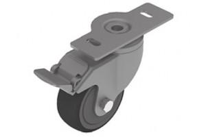Поворотные колёса с фланцем для станочных профилей