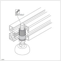 11049 | Втулка різьбова М12 для плаваючих опор
