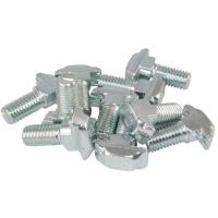 10206 | Т-подібний болт, паз 8, виступ 3 мм, М8х25, сталь оцинкована