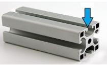 Отличия  алюминиевого профиля с т-пазом
