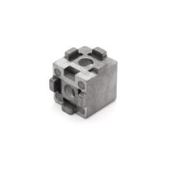 Двух - трёхсторонние и 2D / 3D кубические соединители конструкционных профилей