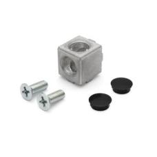 10454 | 2D кубический соединитель на профиль 45 паз 10
