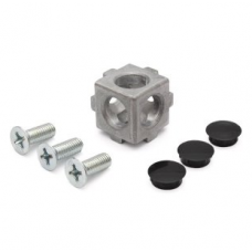 10455 | 3D кубічний з'єднувач на профіль 20 паз 5 Item