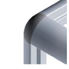 10425 | Заглушка сферическая на угловой тройник 10423