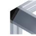 10420 | Трёхсторнний угловой соединитель, паз 5, профили 20