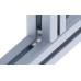 10400 | Внутренний угловой соединитель, паз 6, нерж.