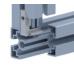 10402 | Внутренний угловой соединитель, паз 10