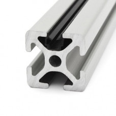 10630 | Окантовочний профіль - профільна вставка - ущільнювач 2-3 мм, паз ситем. Item 5 (чорний)