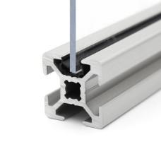 10632 | Окантовочний профіль - профільна вставка - ущільнювач 1-4 мм, паз 6 профілів Bosch (1 м, чёрный)