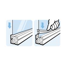 10660 | Уплотнитель для листовых материалов Item паз 8-10, Bosch паз 10