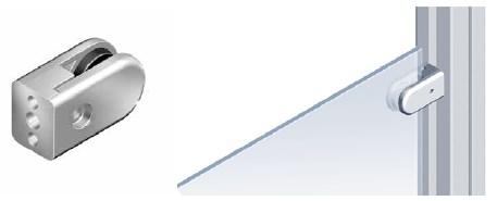 Зажимы для листовых материалов на станочные профили