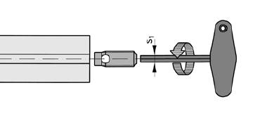 Монтаж резьбовой втулки автоматического крепления Item