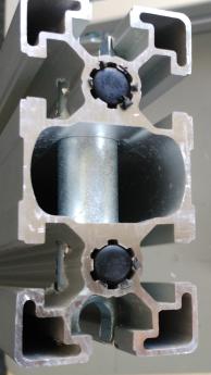 Болтовой соединитель паз 10 для станочных профилей 45х90
